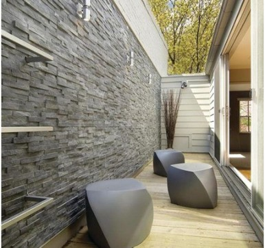 Stone veneers wall cladding