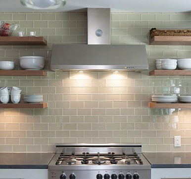 Brick Masonry Style Kitchen Wall Tiles