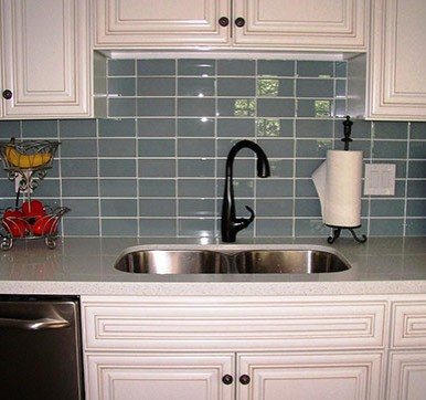 Grey Wall Kitchen Tiles