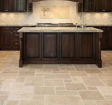 Kitchen Vinyl Tile Flooring