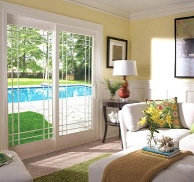 swimingpool sliding door design