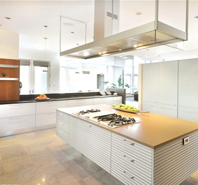 Kitchen Island Design with Stove