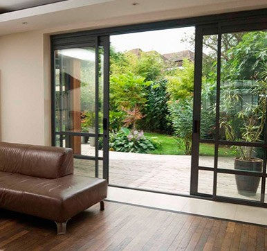 sliding door design for living room