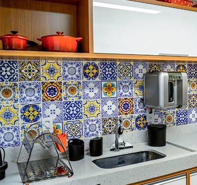 Printed Kitchen Tiles