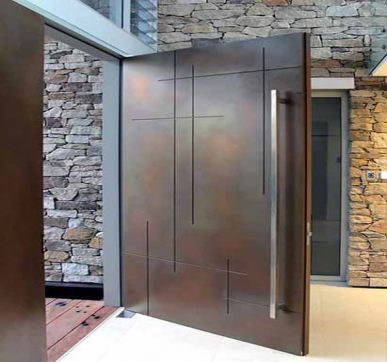 Custom made Steel entrance door