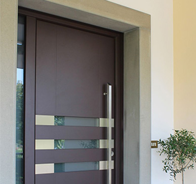 Modern Sunmica door design