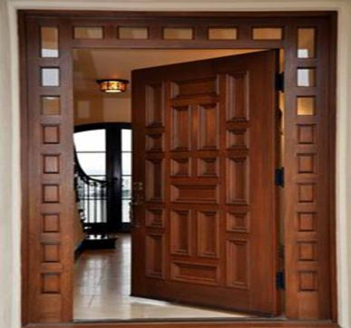 Traditional Indian Interior door design