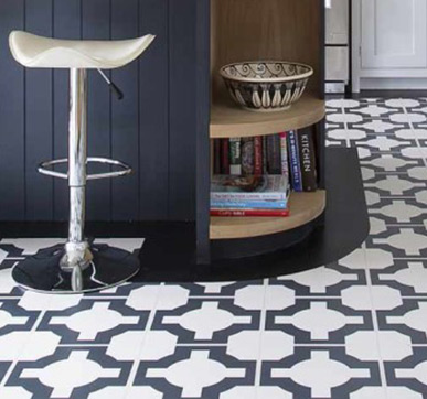 Luxurious Vinyl tiles