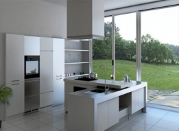 Stainless Steel Modular  Kitchen by shya-decor