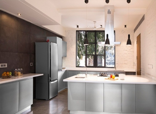 Stainless Steel Modular Kitchen by Asian Engg Works