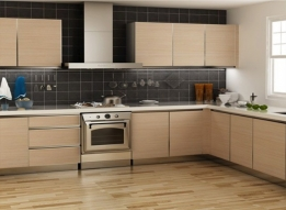 Laminated Modular Kitchen by Earthen Roots