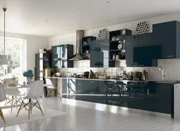 Stainless Steel Modular Kitchen by Earthen Roots