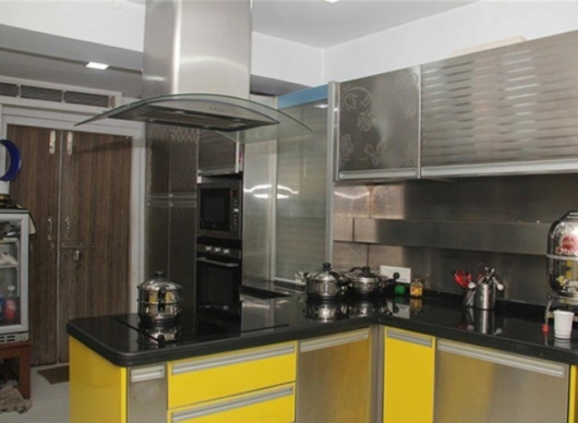 Stainless Steel Modular Kitchen by Morok Designs