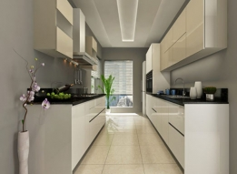 Parallel Modular Kitchen by RS Enterprises