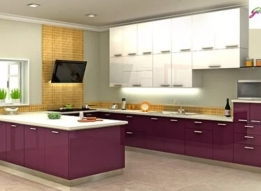 U Shaped Modular Kitchen by RS Enterprises