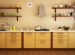 Straight Modular Kitchen by Sublime